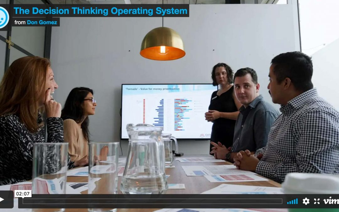 The Decision Thinking Operating System